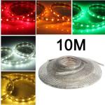 10M 5050 Waterproof IP67 Flexible Led Strip Light For XMAS Home Decor 110V LED Strip