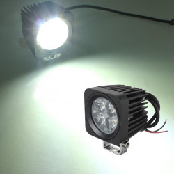 10W 4LED Modular Work Lamp Projektør for Offroad ATV Truck SUV Jeep