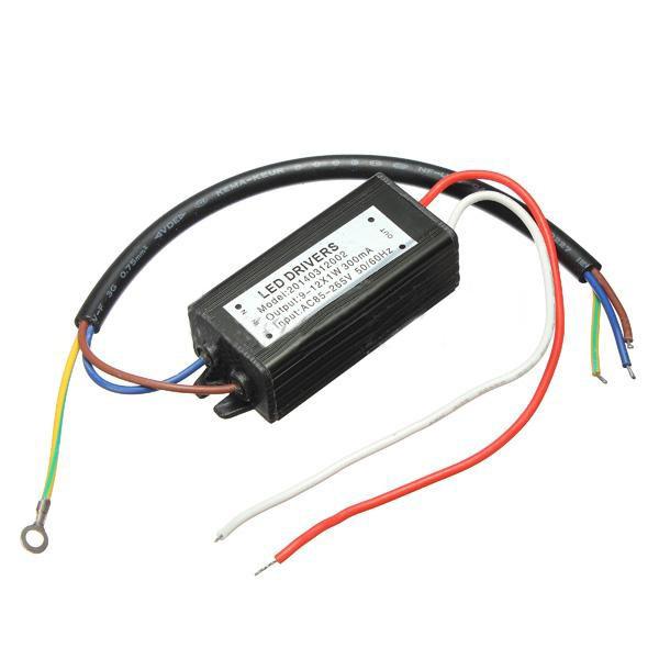 10W 50 60HZ High Power LED Treiber wasserdichter IP65 AC85V 265V Beleuchtung Zubehör