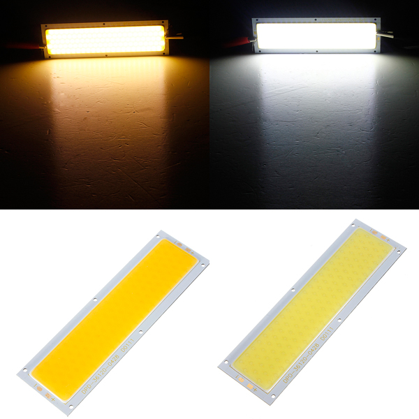 10W COB LED Lampe Pære Varm Pure Hvid for DIY DC 12V LED Bånd / Lysbånd
