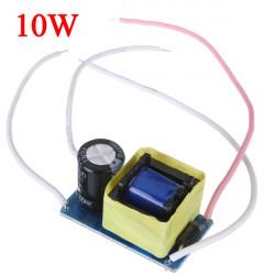 10W LED Driver Strömförsörjning Konstant Ström för Strålkastare 85-265V