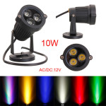 10W LED Flut Punkt Licht mit Stab für Garten Yard Pfad IP65 AC 85 265V LED Beleuchtung
