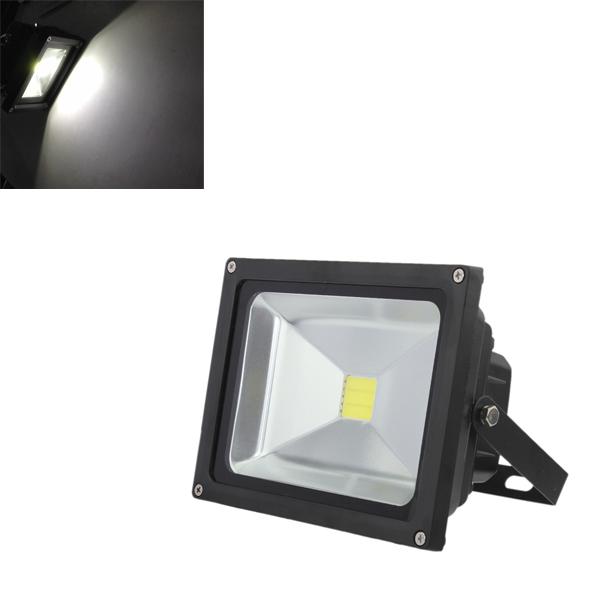 10W Pure Hvid 900LM Vandtæt High Power LED Projektør 110-220V LED Belysning