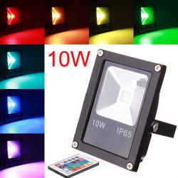 10W RGB IP65 LED Flood Light Wash Garden Lamp Outdoor AC 85-265V