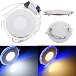 10W Round Acrylic LED CREE Recessed Panel Down Light For Indoor