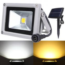 10W Solar Power LED Flutlicht wasserdichten Outdoor Landschaft im Rampenlicht