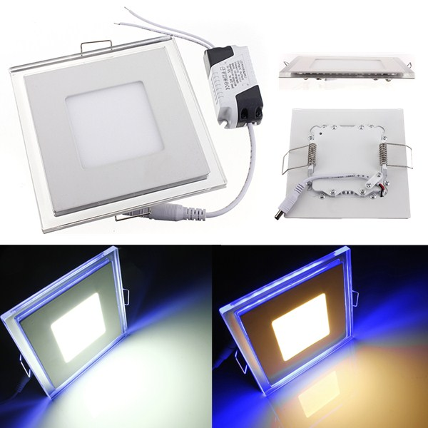 10W Square Acrylic LED CREE Recessed Panel Down Light For Indoor LED Lighting