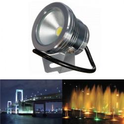 10W Underwater LED Fasadbelysning Tvätta Vattentät Spotlight Pool Utomhus 12V