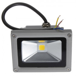 10W Varm Hvid LED Projektør Udendørs Vandtæt 110-220V