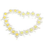10pcs 3W LED Lamp Bulb Chips 200-230Lm White/Warm White Beads LED Lighting