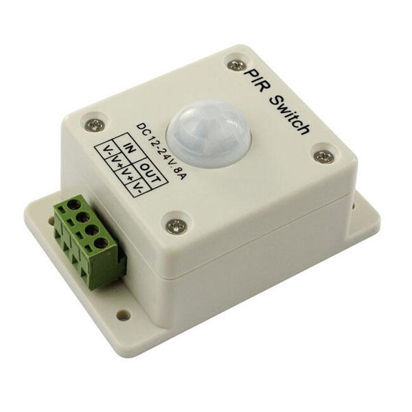 12V-24V IR PIR Rörelsesensor Switch Controller för Lysrör LED Slingor / Ljusslingor