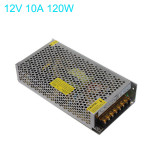 12V 10A 120W Schaltnetzteil für LED Streifen Hot AC 110 220V LED Streifen