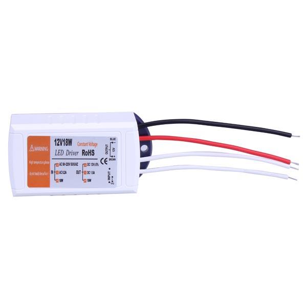 12V 18W LED Driver Power Driver AC 90-220V LED Bånd / Lysbånd