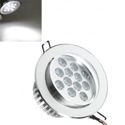 12W 1200LM 6000 6500K Weiß Kabinett LED Einbaudeckenleuchte 85 265V