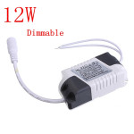 12W LED Dimmable Driver Transformer Power Supply For Bulbs AC85-265V Lighting Accessories