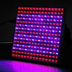 14W Blå / Røde Plads Panel Sparepære 225LED Vækstlampe AC 85-265V