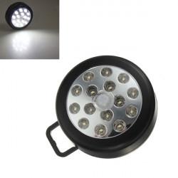 15LED PIR Auto Sensor Rörelsedetektor Trådlös Ljus Vit