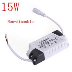 15W LED Driver Transformator Nätaggregat för Lökar AC86-265V