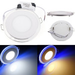 15W Round Acrylic LED CREE Recessed Panel Down Light For Indoor LED Lighting