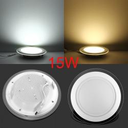 15W Ultradünne Runde Acryl LED Einbaudeckenverkleidung unten Licht