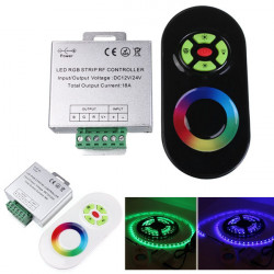 18A Touch Dæmpbar Fjernbetjening Trådløs RF Controller for Led RGB Strip