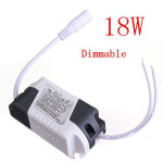 18W LED Dimmable Driver Transformer Power Supply For Bulbs AC85-265V Lighting Accessories