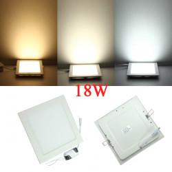 18W Square Dimbar Ultratunn Tak Energibesparande LED-Panel Ljus