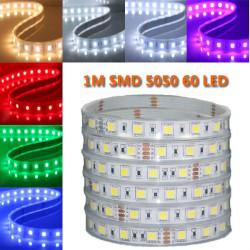 1M 5050 SMD 60LED Gehäuse LED Scheinwerfern wasserdichtes IP67 DC 12V