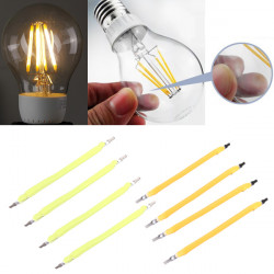 1W COB LED Filament Globe Candle Light Source Weiß / Warm White DIY