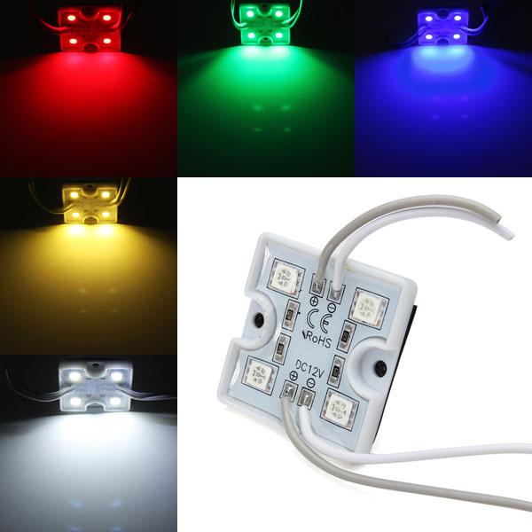 1st LED-modul Vattentät SMD 5050 12V Röd / Grön / Blå för Billboard LED Slingor / Ljusslingor