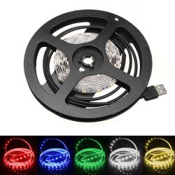 200cm Icke-Vattentät LED Slinga Ljus TV Bakgrund Ljus med AC 5V
