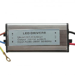 20W 50-60HZ High Power LED Driver Waterproof IP65 AC85V-265V
