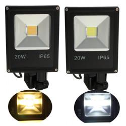 20W PIR Bewegungs Sensor LED Flutlicht IP65 Warm / Kalt weiße Beleuchtung