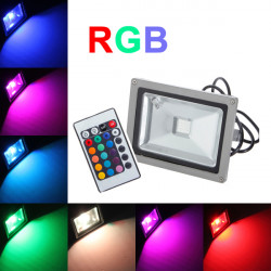 20W RGB Waterproof IP65 Outdoor LED Flood Wash Light 85-265V