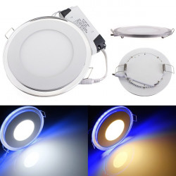 20W Round Acrylic LED CREE Recessed Panel Down Light For Indoor