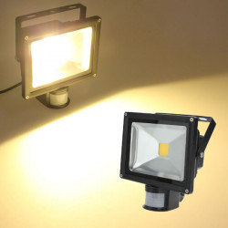 20W Warm White 1550LM PIR Sensor Detective LED Flood Light 85-265 AC