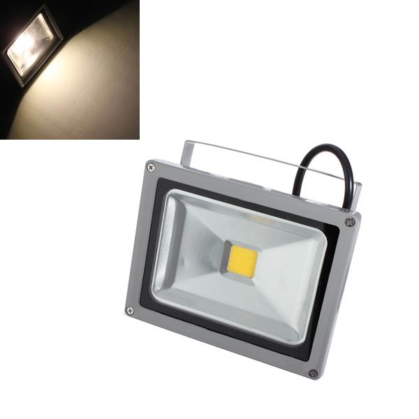 20W Warm White 1800-2000LM LED Waterproof Outdoor Flood Light 85-265V LED Lighting