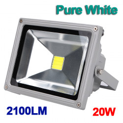 20W White 2100LM LED Flood Wash Light Outdoor Waterproof 85-265V