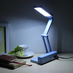 21 LED Foldable Table Lamp With Pen Holder For Office School Home Use