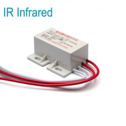 220V IR Infrared Module Sensing Microwave Radar Body Sensor Switch