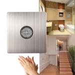 220V Väggfäste Voice Ljussensor Switch Ljud & Light Control Delay Switch Belysning Tillbehör