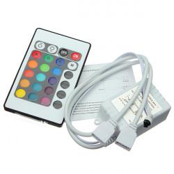 24 Schlüssel IR Fernsteuerpult für DC 12V RGB LED Lichtleiste