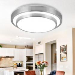24W Minimalismus Double Layer Aluminium LED Deckenleuchte für den Innen
