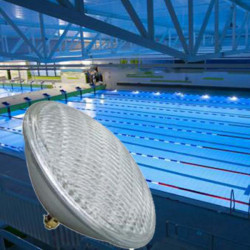 25W 56LEDs RGB LED Swimmingpool Teich PAR56 Licht IP68 wasserdichte