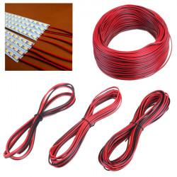 2 Pin Extension Wire Anslutningskabel för 3528 5050 LED Slinga Ljus