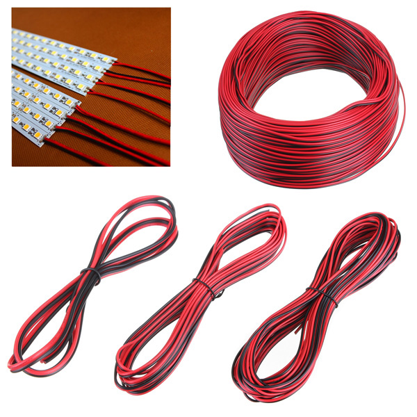 2 Pin Extension Wire Connector Cable For 3528 5050 LED Strip Light LED Strip