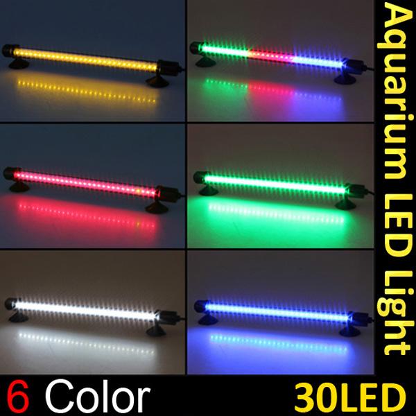 30 LED Aquarium Wasserdicht Unterwasser Stock Streifen Licht LED Beleuchtung