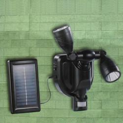 38 LED Dobbelt Headed Solcelle Sensor Motion Induktion LED Lys