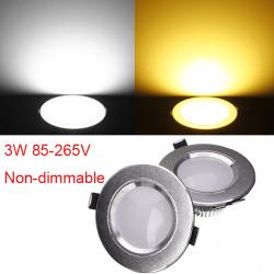 3W Cree LED Downlight Tak Infälld Lampa 85-265V + Driver