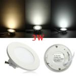 3W Round Ceiling Ultrathin Panel LED Lamp Downlight Light 85-265V LED Lighting